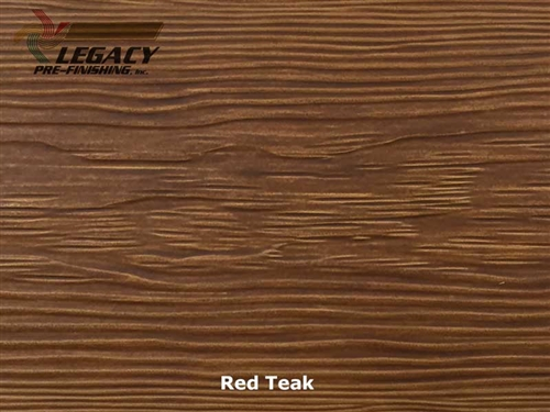 Allura Pre Finished Fiber Cement Cedar Lap Siding Red