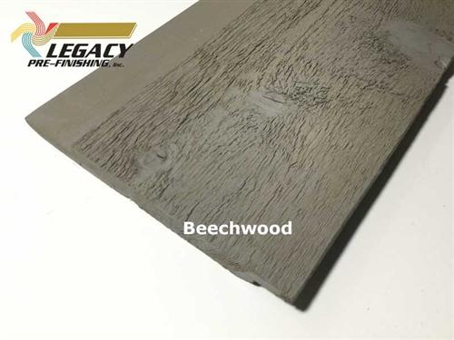 Prefinished Cedar Channel Rustic Siding Beechwood Gray